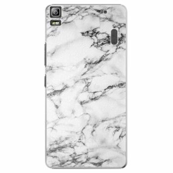 Plastové pouzdro iSaprio - White Marble 01 - Lenovo A7000