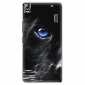 Plastové pouzdro iSaprio - Black Puma - Lenovo A7000