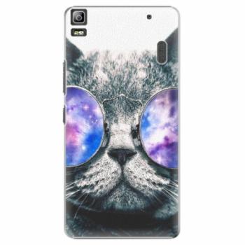Plastové pouzdro iSaprio - Galaxy Cat - Lenovo A7000