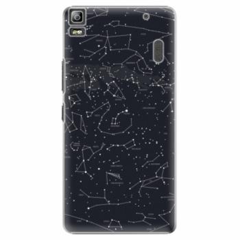 Plastové pouzdro iSaprio - Night Sky 01 - Lenovo A7000
