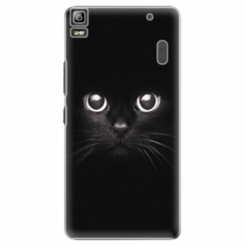 Plastové pouzdro iSaprio - Black Cat - Lenovo A7000