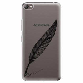Plastové pouzdro iSaprio - Writing By Feather - black - Lenovo S60