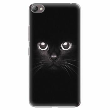 Plastové pouzdro iSaprio - Black Cat - Lenovo S60