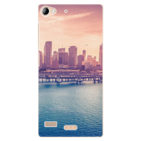 Plastové pouzdro iSaprio - Morning in a City - Lenovo Vibe X2