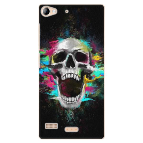 Plastové pouzdro iSaprio - Skull in Colors - Lenovo Vibe X2