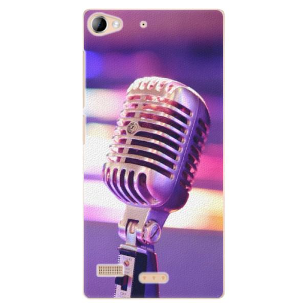 Plastové pouzdro iSaprio - Vintage Microphone - Lenovo Vibe X2