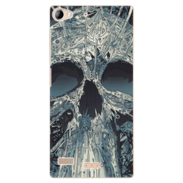 Plastové pouzdro iSaprio - Abstract Skull - Lenovo Vibe X2
