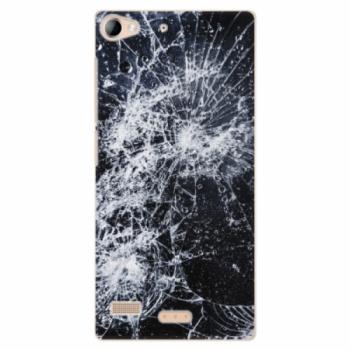 Plastové pouzdro iSaprio - Cracked - Lenovo Vibe X2