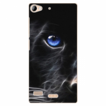 Plastové pouzdro iSaprio - Black Puma - Lenovo Vibe X2
