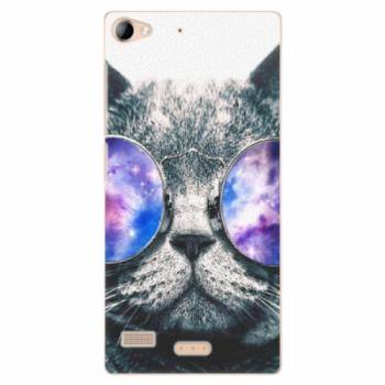 Plastové pouzdro iSaprio - Galaxy Cat - Lenovo Vibe X2