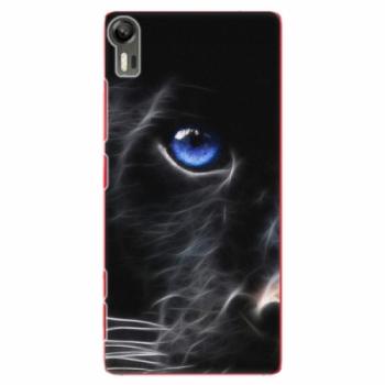 Plastové pouzdro iSaprio - Black Puma - Lenovo Vibe Shot