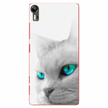 Plastové pouzdro iSaprio - Cats Eyes - Lenovo Vibe Shot