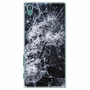 Plastové pouzdro iSaprio - Cracked - Sony Xperia Z5