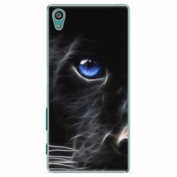 Plastové pouzdro iSaprio - Black Puma - Sony Xperia Z5