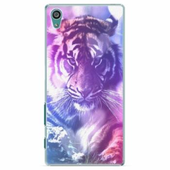 Plastové pouzdro iSaprio - Purple Tiger - Sony Xperia Z5
