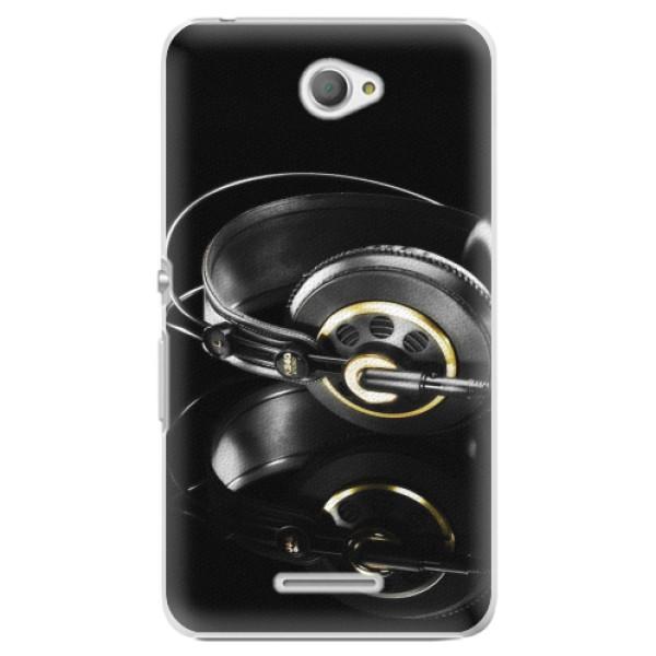 Plastové pouzdro iSaprio - Headphones 02 - Sony Xperia E4