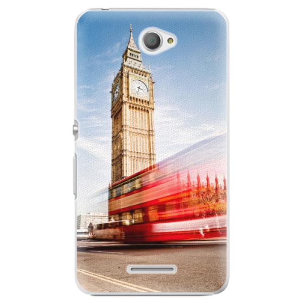Plastové pouzdro iSaprio - London 01 - Sony Xperia E4