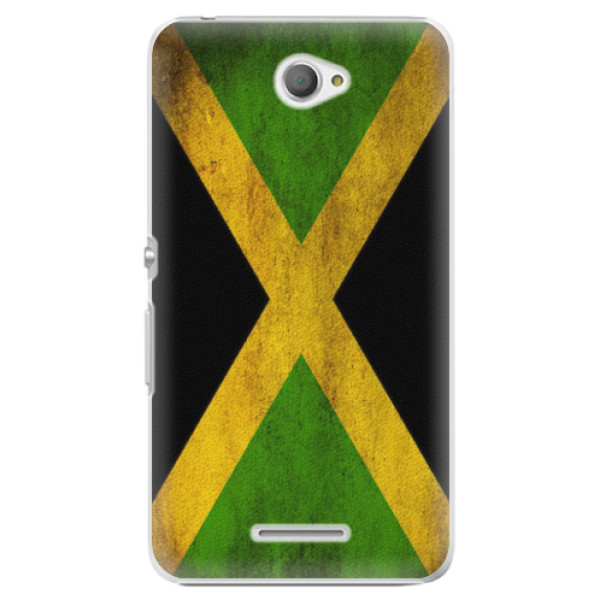 Plastové pouzdro iSaprio - Flag of Jamaica - Sony Xperia E4