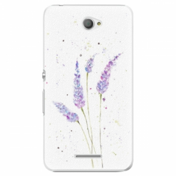 Plastové pouzdro iSaprio - Lavender - Sony Xperia E4