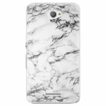 Plastové pouzdro iSaprio - White Marble 01 - Sony Xperia E4