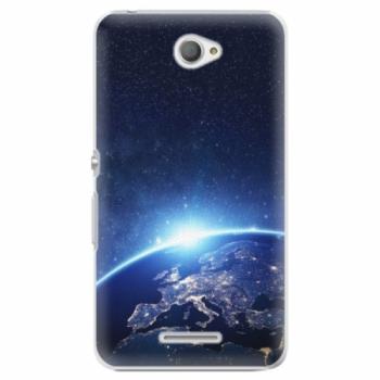 Plastové pouzdro iSaprio - Earth at Night - Sony Xperia E4