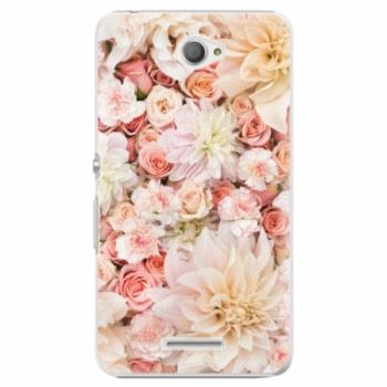 Plastové pouzdro iSaprio - Flower Pattern 06 - Sony Xperia E4
