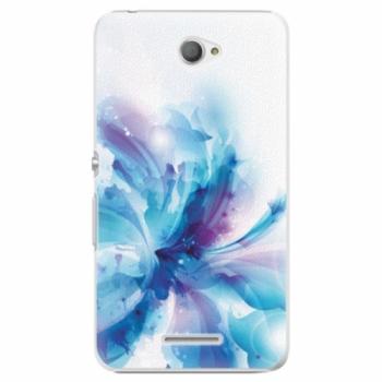 Plastové pouzdro iSaprio - Abstract Flower - Sony Xperia E4
