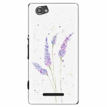 Plastové pouzdro iSaprio - Lavender - Sony Xperia M