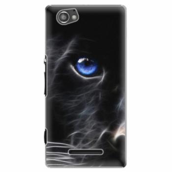 Plastové pouzdro iSaprio - Black Puma - Sony Xperia M