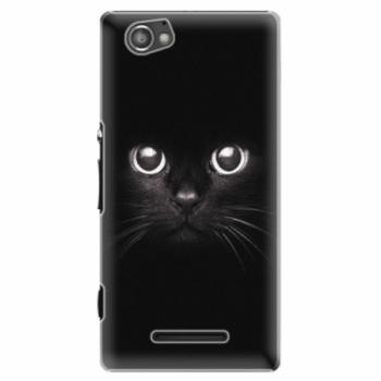 Plastové pouzdro iSaprio - Black Cat - Sony Xperia M