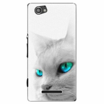 Plastové pouzdro iSaprio - Cats Eyes - Sony Xperia M