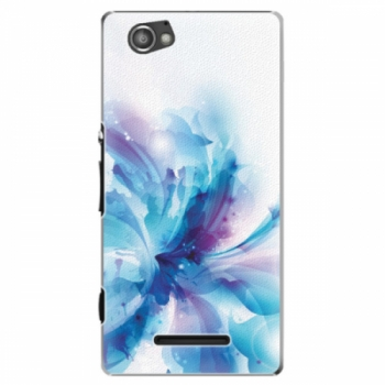 Plastové pouzdro iSaprio - Abstract Flower - Sony Xperia M
