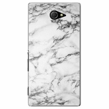 Plastové pouzdro iSaprio - White Marble 01 - Sony Xperia M2