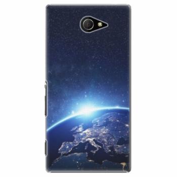 Plastové pouzdro iSaprio - Earth at Night - Sony Xperia M2