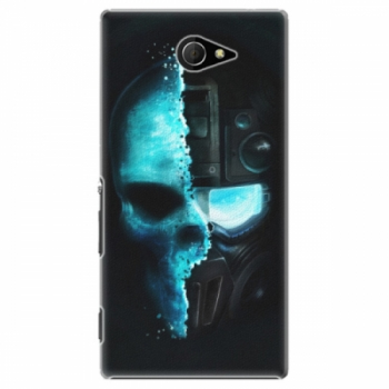 Plastové pouzdro iSaprio - Roboskull - Sony Xperia M2