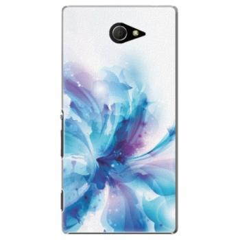 Plastové pouzdro iSaprio - Abstract Flower - Sony Xperia M2