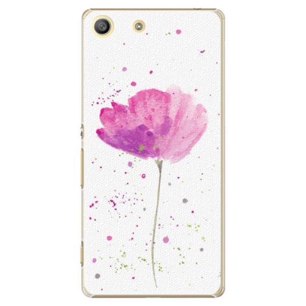 Plastové pouzdro iSaprio - Poppies - Sony Xperia M5