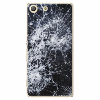 Plastové pouzdro iSaprio - Cracked - Sony Xperia M5