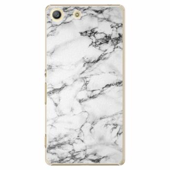 Plastové pouzdro iSaprio - White Marble 01 - Sony Xperia M5