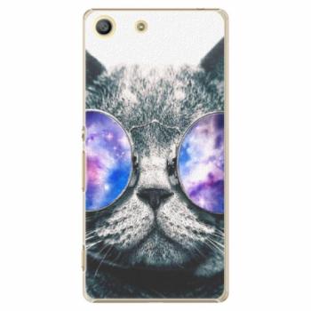 Plastové pouzdro iSaprio - Galaxy Cat - Sony Xperia M5