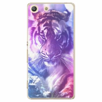Plastové pouzdro iSaprio - Purple Tiger - Sony Xperia M5