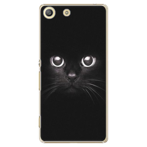 Plastové pouzdro iSaprio - Black Cat - Sony Xperia M5