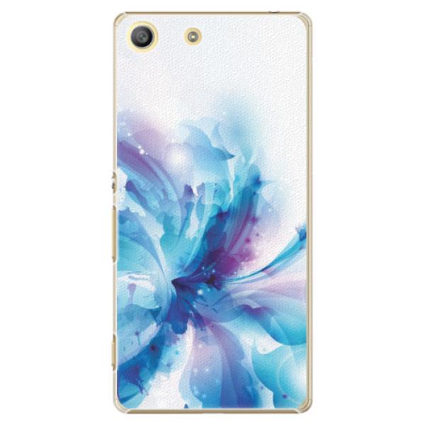Plastové pouzdro iSaprio - Abstract Flower - Sony Xperia M5