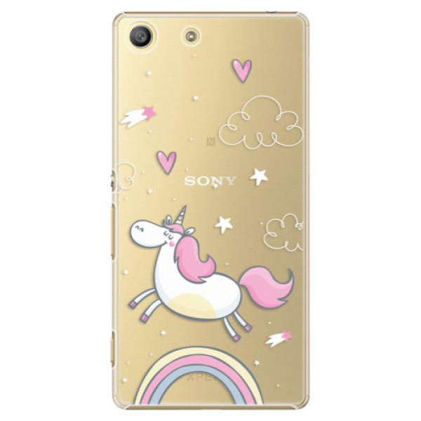 Plastové pouzdro iSaprio - Unicorn 01 - Sony Xperia M5