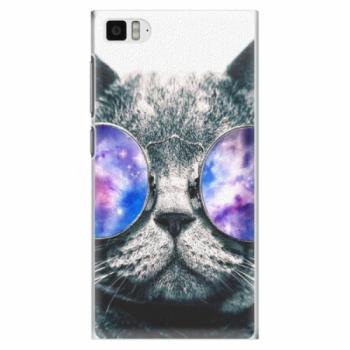 Plastové pouzdro iSaprio - Galaxy Cat - Xiaomi Mi3