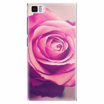 Plastové pouzdro iSaprio - Pink Rose - Xiaomi Mi3
