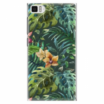 Plastové pouzdro iSaprio - Tropical Green 02 - Xiaomi Mi3