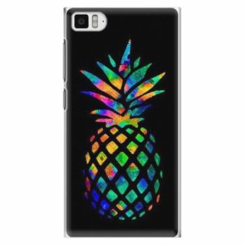 Plastové pouzdro iSaprio - Rainbow Pineapple - Xiaomi Mi3