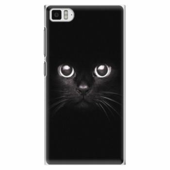 Plastové pouzdro iSaprio - Black Cat - Xiaomi Mi3