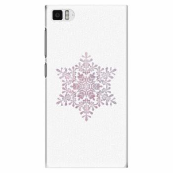 Plastové pouzdro iSaprio - Snow Flake - Xiaomi Mi3